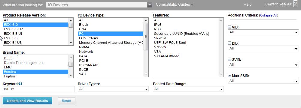Get firmware versions of installed hardware in ESXi – gansercom