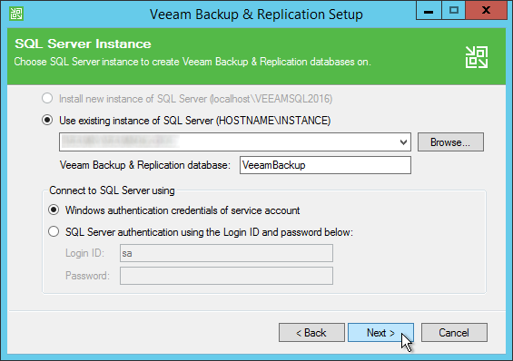 Update Veeam Backup and Replication to 9 5 Update 4 – gansercom