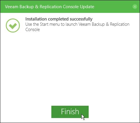 Update Veeam Backup and Replication to 9 5 Update 4 – gansercom