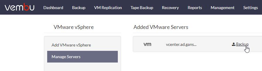 Review – Vembu BDR Suite 4 0 – gansercom
